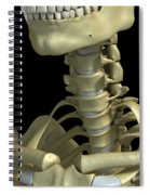 Bones Of The Neck Spiral Notebook