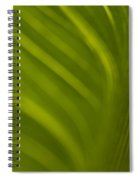 Calla Lily Stem Close Up Spiral Notebook