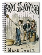 Clemens: Tom Sawyer Spiral Notebook