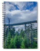 Clingmans Dome - Great Smoky Mountains National Park Spiral Notebook