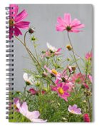 Close-up Of Flowers Spiral Notebook