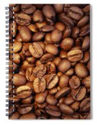 Coffee Beans Spiral Notebook