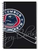 Columbus Blue Jackets Spiral Notebook