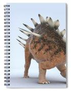 Dinosaur Kentrosaurus Spiral Notebook