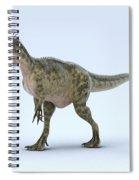 Dinosaur Monolophosaurus Spiral Notebook