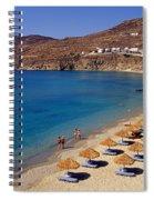 Elia Beach Spiral Notebook