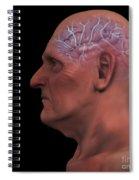 Geriatric Brain Spiral Notebook