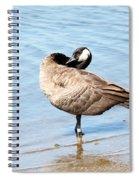 Goose Spiral Notebook
