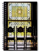 7 Hairs And Stained Glass Db Spiral Notebook