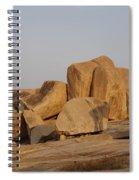 Hampi Landscape Spiral Notebook