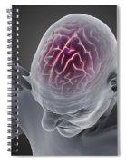 Head Ache Spiral Notebook