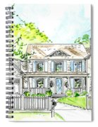 House Rendering Spiral Notebook