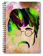 John Lennon Collection Spiral Notebook