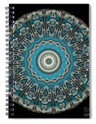 Kaleidoscope Steampunk Series Spiral Notebook