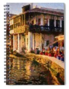 Little Venice In Mykonos Island Spiral Notebook