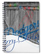 Los Angeles Dodgers Spiral Notebook