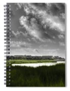 Southern Tall Marsh Grass Spiral Notebook