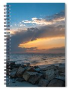 Sc Lowcountry Sunset Spiral Notebook