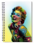 Marilyn Monroe Spiral Notebook