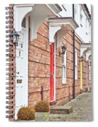 Modern Homes Spiral Notebook