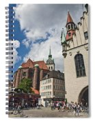 Munich Germany Spiral Notebook