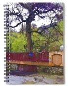 Near Entrance To Hindu Temple Of Mattan Spiral Notebook