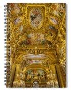Palais Garnier Interior Spiral Notebook