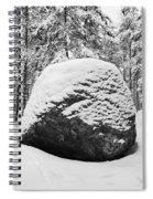 Pine Forest Winter Spiral Notebook