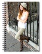 Portrait Of A Woman Spiral Notebook