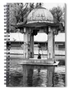 Premises Of The Hindu Temple At Mattan With A Water Pond Spiral Notebook