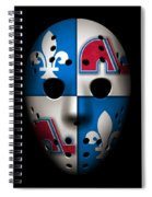 Quebec Nordiques Spiral Notebook