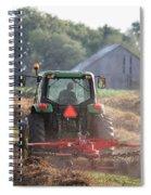 Raking Hay Spiral Notebook