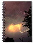 Rounds 2 3 Late Night Nebraska Storms Spiral Notebook