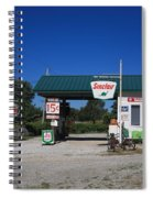 Route 66 Sinclair Station Spiral Notebook