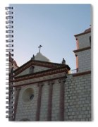 Santa Barbara Mission Spiral Notebook