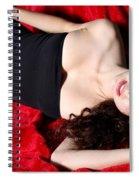Sexy Woman Spiral Notebook