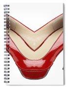 Shoe Love Spiral Notebook