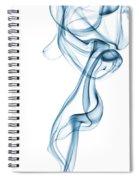 Smoke Curve Spiral Notebook