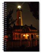 St Simons Island Lighthouse 2 Spiral Notebook