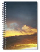 Sunset Sky Spiral Notebook