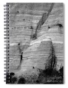 New Mexico - Tent Rocks Spiral Notebook