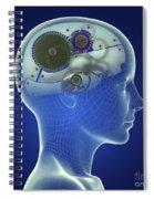 Thought Mechanism Spiral Notebook