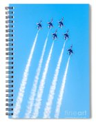 Thunderbirds In Formation  Spiral Notebook