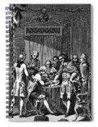 Treaty Of Paris, 1783 Spiral Notebook