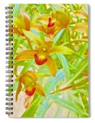 Laughing Girls Watercolor Photography Spiral Notebook
