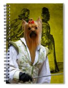 Yorkshire Terrier Art Canvas Print Spiral Notebook