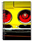 71 Camaro Tail Lights Spiral Notebook