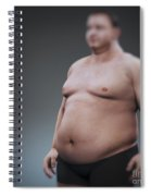Obesity Spiral Notebook