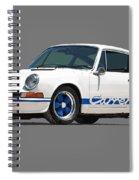 '73 Porsche 911 Carrera 2.7 Rs Spiral Notebook