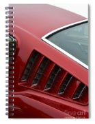 Mustang Fastback Detail Spiral Notebook